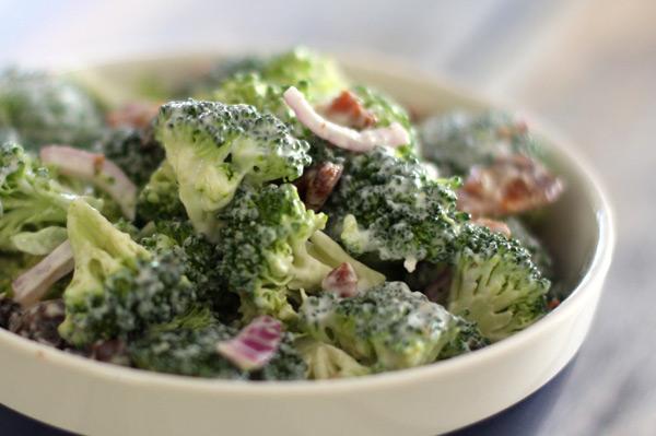 Broccoli Crunch Salad Recipe