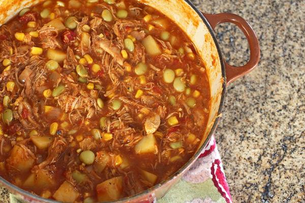 Crockpot Or Stovetop Brunswick Stew