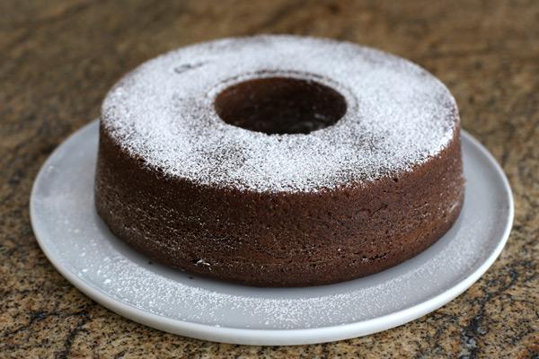 chocolate tube cake