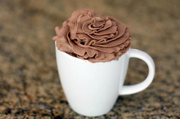 cocoa whipped cream