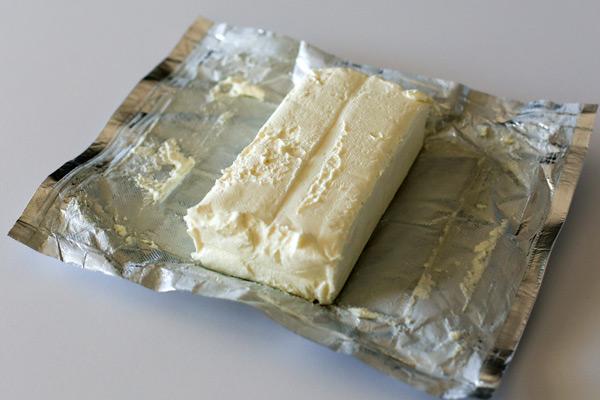 cream cheese block