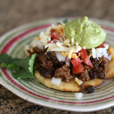 guac on taco