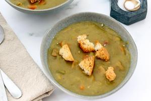 Instant Pot Split Pea Soup With Ham