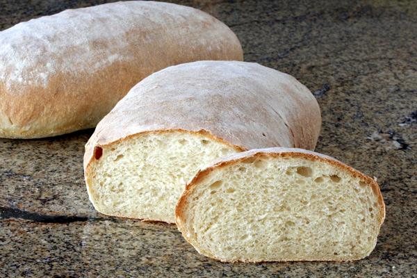 crusty homemade rustic bread