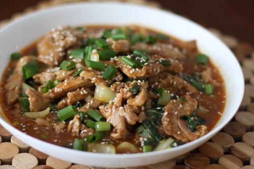 sesame-pork