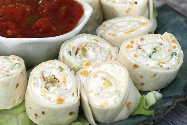 tortilla roll-ups appetizer