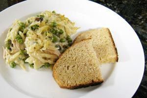 Tuna and Orzo Pasta Casserole