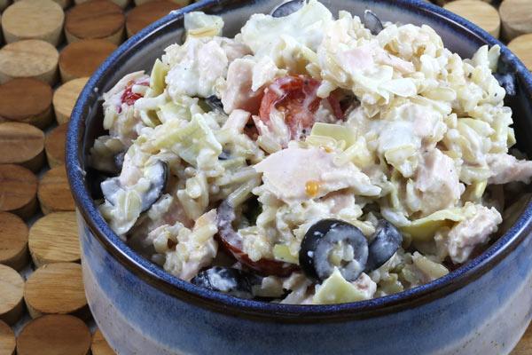 tuna and rice salad